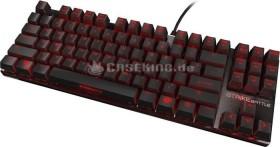 Ozone Strike Battle schwarz, MX RED, USB, DE