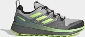adidas Terrex Folgian Hiker GTX grey two/core black/signal green (Herren) (FW8688)