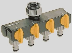 Gardena 4-way splitter (1194)