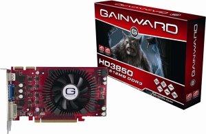 Gainward Radeon HD 3850, 512MB DDR3, VGA, DVI, HDMI, PCIe 2.0 (9429)