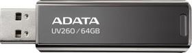 ADATA UV260 Black 64GB, USB-A 2.0 (AUV260-64G-RBK)