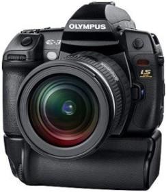 Olympus E-3 schwarz mit Objektiv 12-60mm 2.8-4.0 SWD und HLD-4 Batteriegriff (E0413300)