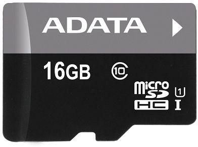 ADATA Premier microSDHC 16GB, UHS-I U1, Class 10 (AUSDH16GUICL10-R)