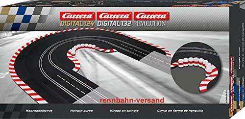 Carrera - Digital 124/132/Evolution Zubehör - Haarnadelkurve 1 / 60 (20613) -- via Amazon Partnerprogramm