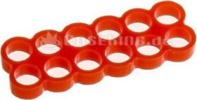 E22 12 slot Stealth cable comb 4mm red (SC-304-E2)