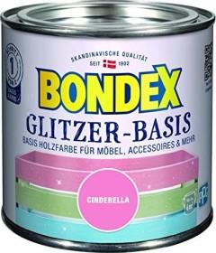 Bondex Glitzer-Basis Holzfarbe innen Holzschutzmittel cinderella, 500ml (424676)