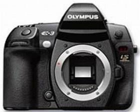 Olympus E-3 schwarz Gehäuse mit HLD-4 Batteriegriff (E0413299)