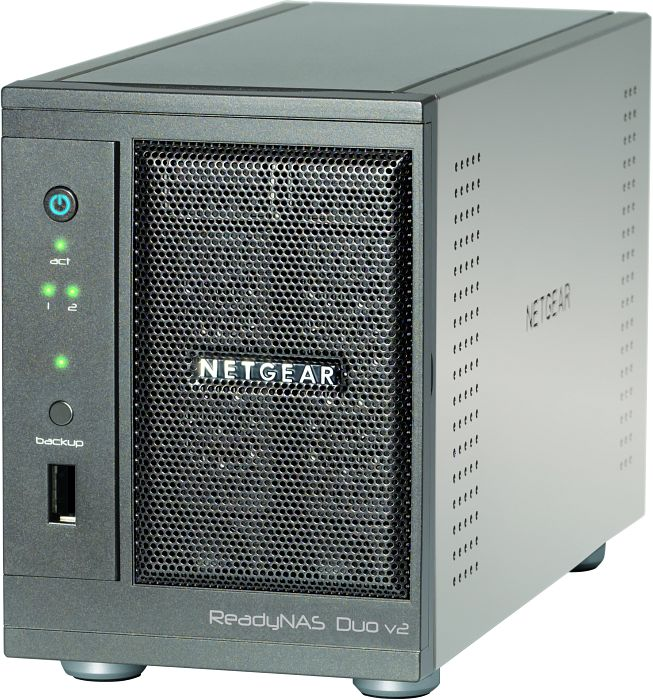 Netgear ReadyNAS Duo v2 RND2000 (various capacities), Gb LAN (RND2000-200EUS)