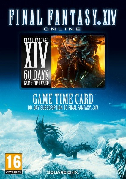 Final Fantasy XIV: A Realm Reborn - Game Time Card (PC/PS3/PS4)