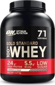 Optimum Nutrition Gold Standard 100% Whey Cookies & Cream 2.27kg