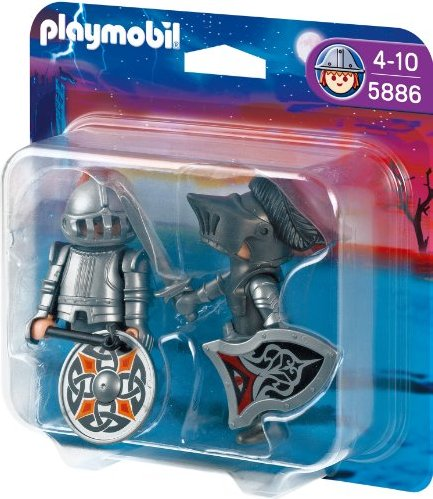playmobil - Knights - Duo Pack Eiserne Ritter (5886) -- via Amazon Partnerprogramm