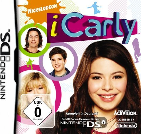 iCarly - The Video Game (deutsch) (DS) -- via Amazon Partnerprogramm