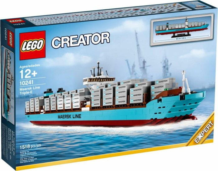 lego creator expert maersk line triple e 10241. Black Bedroom Furniture Sets. Home Design Ideas