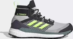 adidas Terrex Free Hiker grey two/core black/signal green (men) (FW8685)