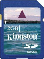 Kingston SD Card 2GB (SD/2GB)