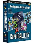 Corel: Gallery Business & Technology (angielski) (PC)