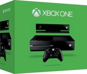 Microsoft Xbox One inkl. Kinect 2.0 - 500GB schwarz