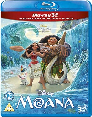 Moana (3D) (Blu-ray) (UK) -- via Amazon Partnerprogramm