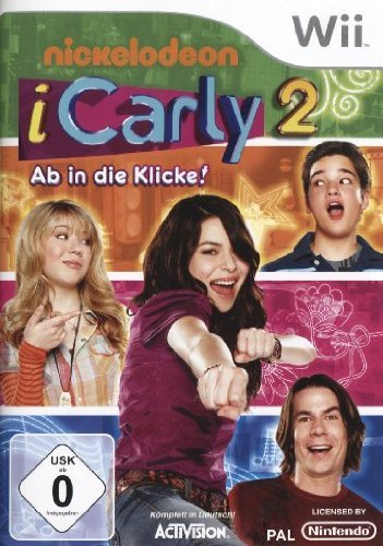 iCarly - The Video Game (deutsch) (Wii) -- via Amazon Partnerprogramm