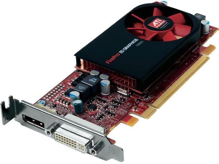 ATI FirePro V3800, 512MB DDR3, DVI, DisplayPort (100-505607)