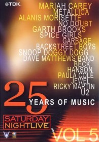 Saturday Nightlive - 25 Years of Music Vol. 5 (DVD)