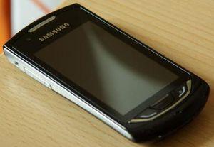 Samsung S5620 Monte black