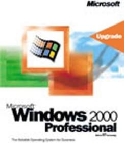 Microsoft Windows 2000 Professional Update (VPUP) von Win9x oder NT (deutsch) (PC) (B23-02136)
