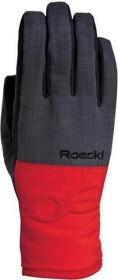 Roeckl Kasaan Handschuhe schwarz/rot (3602-074-004)