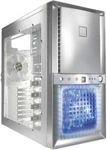 Antec Super LANBOY Midi-Tower aluminum (without power supply) (0761345-08005-7)
