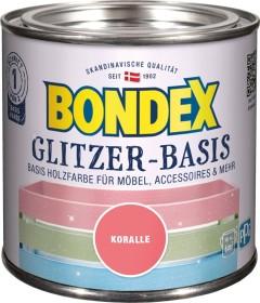 Bondex Glitzer-Basis Holzfarbe innen Holzschutzmittel koralle, 500ml (424675)