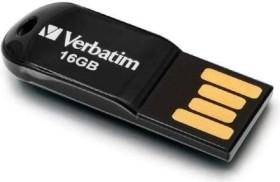 Verbatim Store 'n' Go Micro schwarz 16GB, USB-A 2.0 (44050)