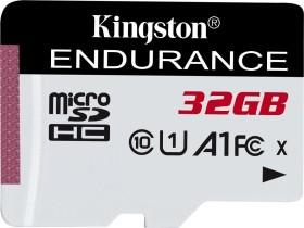 Kingston High Endurance R95/W30 microSDHC 32GB, UHS-I U1, A1, Class 10 (SDCE/32GB)