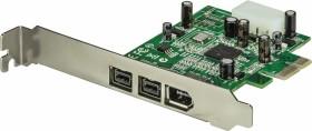 StarTech Adapter, 3x FireWire, PCIe 1.1 x1 (PEX1394B3)