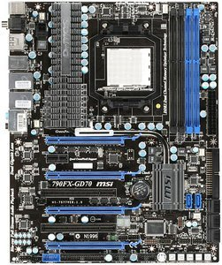 MSI 790FX-GD70, 790FX (7577-010R)