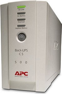 APC Back-UPS CS 500, USB/serial (BK500EI)