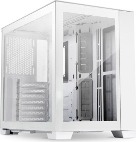 Lian Li PC-O11 Dynamic Mini Snow Edition, weiß, Glasfenster (O11D MINI-S)