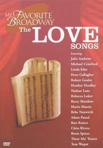 My Favorite Broadway - The Love Songs -- via Amazon Partnerprogramm