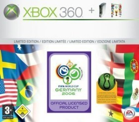 Microsoft Xbox 360 FIFA Worldcup Bundle - Core