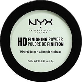NYX High Definition Finishing Powder mint green, 8g
