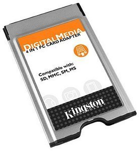 Kingston FCR-PCM2/4-1 PCMCIA 4 in 1 Adapter