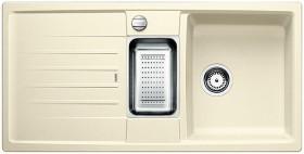 Blanco Lexa 6 S mit Ablauffernbedienung jasmin (514671)