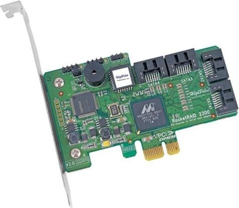 HighPoint RocketRAID 2300, PCIe x1 -- via Amazon Partnerprogramm