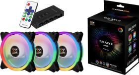 Xigmatek Galaxy II elite ARGB, 120mm, 3-pack, LED control (EN42098)