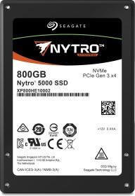 Seagate Nytro 5000 - Mixed-Workload 1.5DWPD 800GB, U.2 (XP800HE10002)