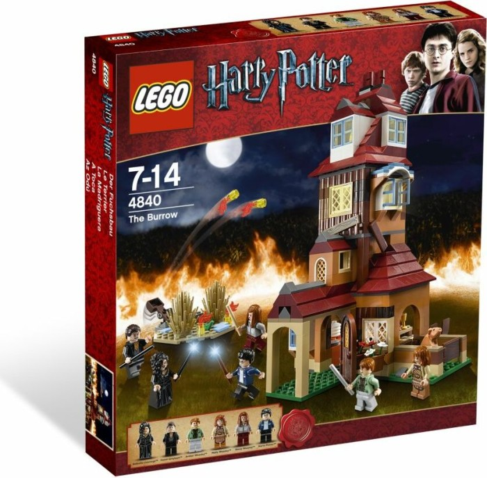 LEGO Harry Potter - Der Fuchsbau (4840) -- via Amazon Partnerprogramm