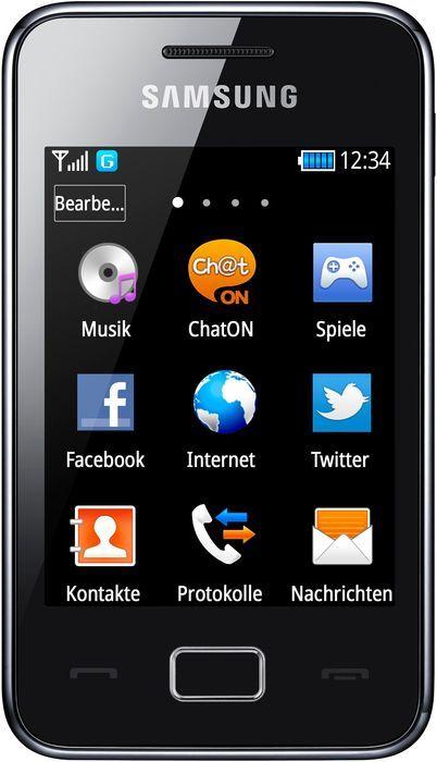 Samsung S5220 Star 3 black