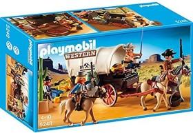 playmobil Western - Planwagen mit Überfall (5248)