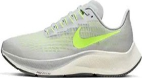 Nike Air Zoom Pegasus 37 grey fog/smoke grey/sail/volt (Herren) (BQ9646-003)