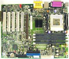 Shuttle AT30, i850, LAN (RDRAM)