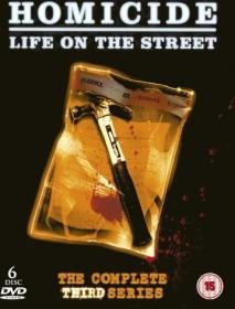 Homicide - Life On The Street Season 3 (DVD) (UK)